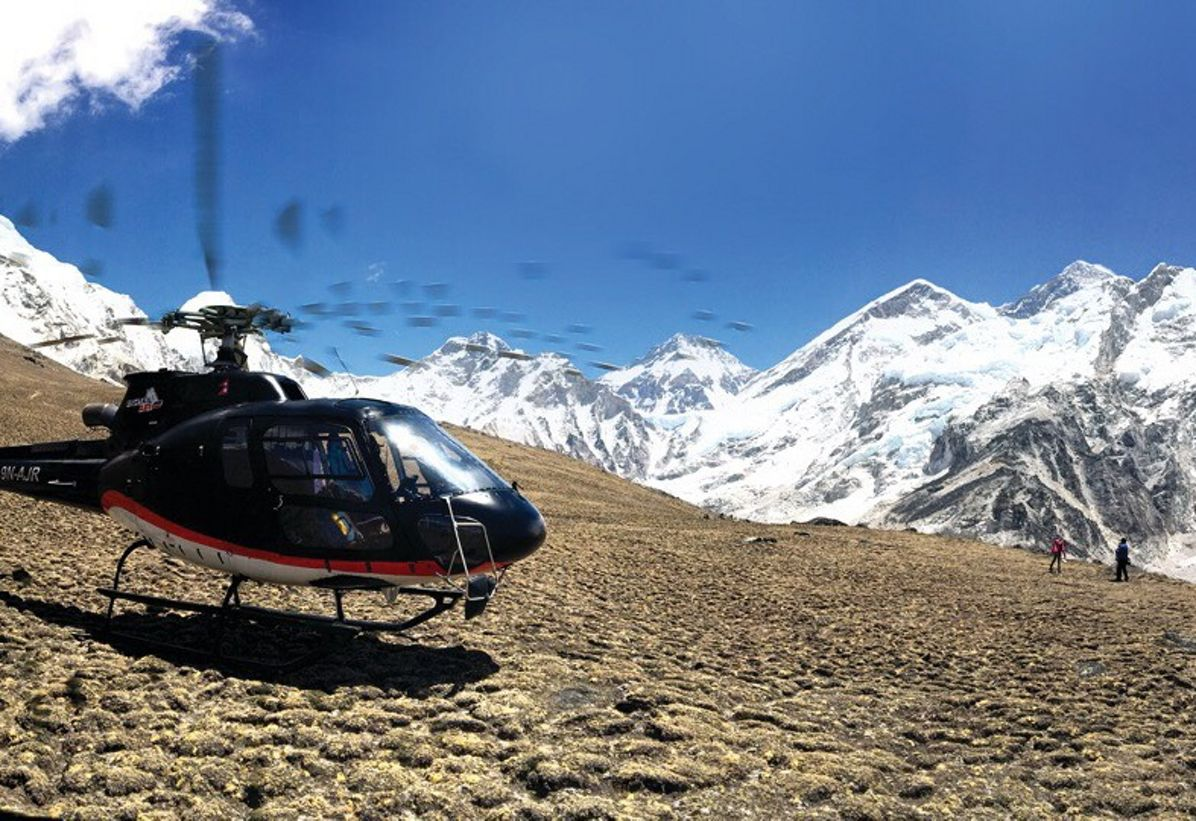 HCare Smart contract signed with Fishtail Air in Nepal
