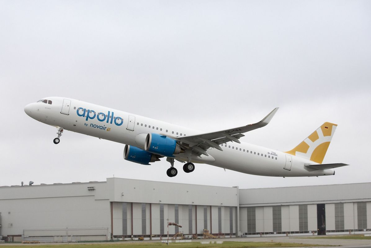 Novair receives its first A321neo