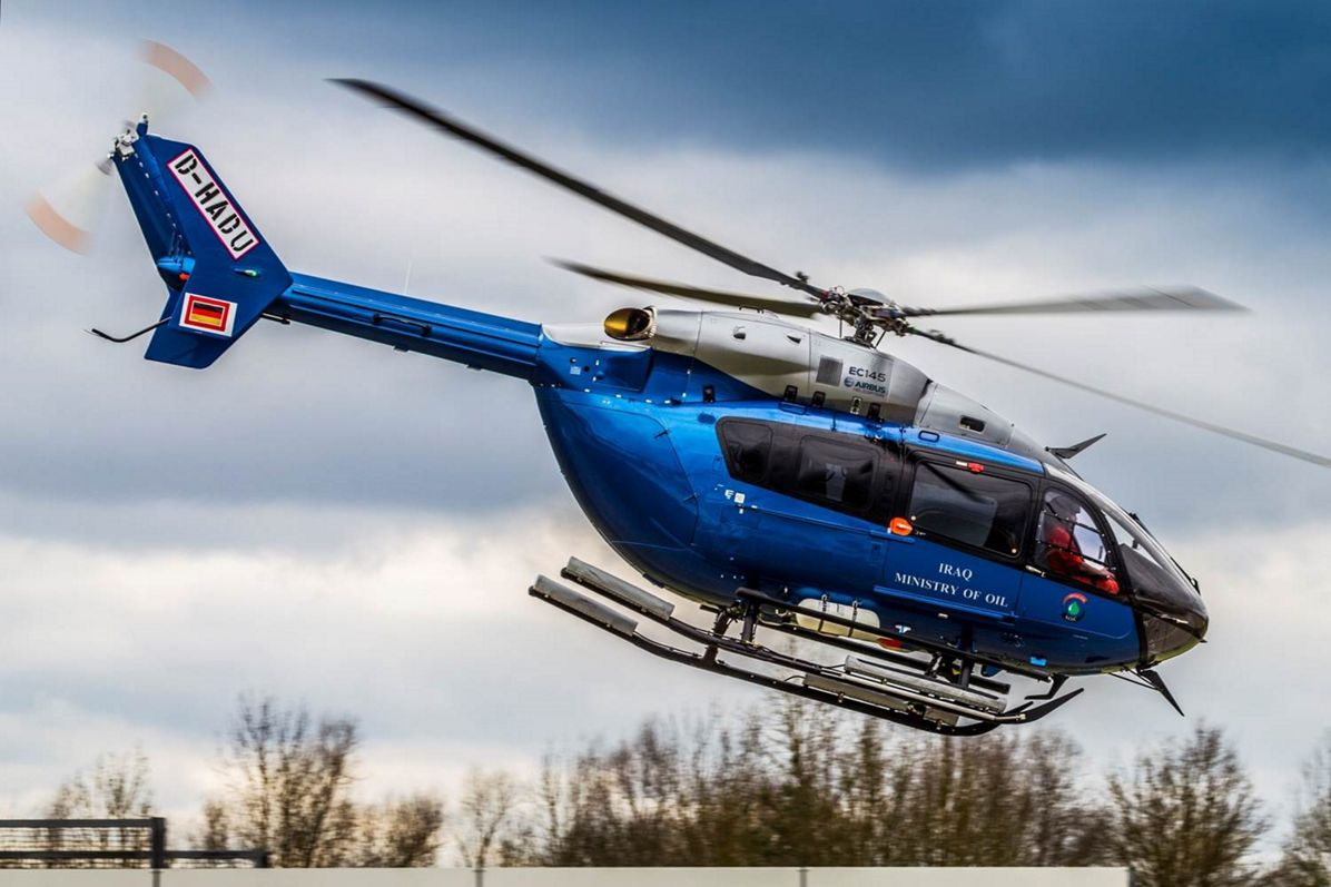 Airbus delivers helicopters to Iraq Ministry of Oil