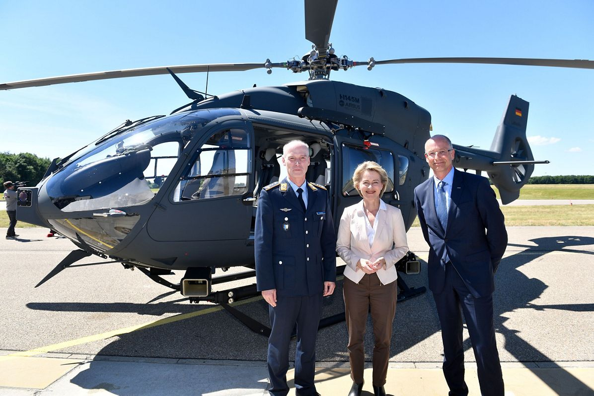 Airbus Helicopters delivers final H145M to the German Air Force
